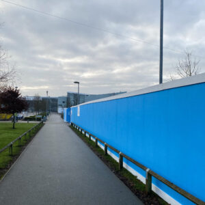 Interserve Hoarding And Gates